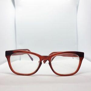 Warby Parker Eyeglasses Finch 606 Grenadine Brown